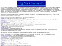 Home: Big Sky Geophysics
