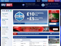 Sky Bet: Online Betting | Best Odds & Sports Betting Offers | Bet £5 Get A £20 Free Bet