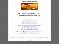Thereedfoundation.org