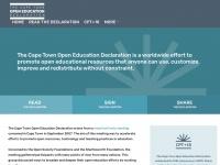 capetowndeclaration.org Thumbnail