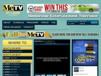 MeTV Network | Memorable Entertainment Television