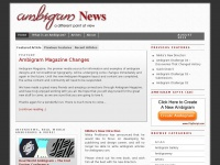 Ambigram Magazine - Ambigram News, Reviews and Tattoos