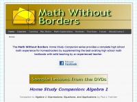 mathwithoutborders.com