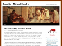 Curculio – Michael Hendry | Patiently Boring since 1998