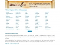 Branah.com - Virtual Keyboards for All Languages