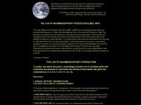 lawofmaximumentropyproduction.com