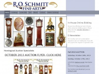 Horological Auction Specialists - R. O. Schmitt Fine Arts