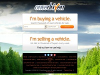 Oncedriven.com - OnceDriven - A Better Way to Buy and Sell Used Vehicles.