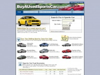 Your Source For Buying A Used Sports Car Online - buyausedsportscar.com