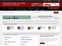 Corvette Parts For Sale - Free Corvette Parts Classifieds