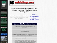 Weblistings.com  For Sale By Owner Real Estate listings.