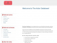 theactordatabase.com