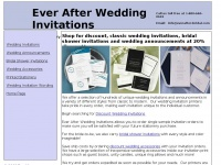 everafterweddinginvitations.com