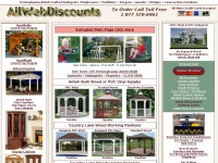 Amish Built Swingsets, Gazebo, Pavilions, Pergola, and Fine Furniture
