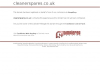 Cleanerspares.co.uk