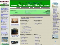 SecondHandRadio free electronics classifieds