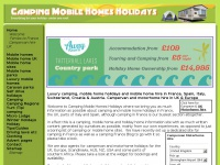 Campingmobilehomesholidays.co.uk