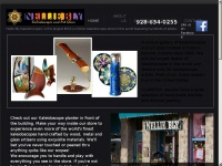 Nellie Bly Kaleidoscopes and Art Glass in the Historic town of Jerome, Arizona offers online shopping!