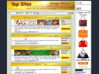 Cross Stitch Top Sites - Rankings - All Sites