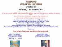 Wildlifeintarsiadesign.com - Wildlife Intarsia Patterns by Robert J. Hlavacek, Sr.