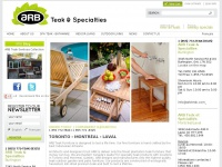 ARB Teak & Specialties | Outdoor Teak Furniture