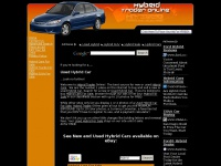 USED HYBRID CAR FOR SALE! Buy or sell new or Used Hybrid Cars at Hybrid Trader Online