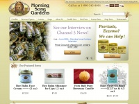 Pure Beeswax Candles, Natural Soaps and Lotions - Morning Song Gardens