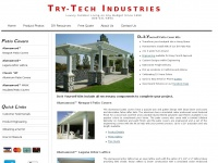 Try-tech.com - Patio Covers - Do It Yourself Patio Cover Kits, Alumawood Patio Covers, Aluminum Awnings, Aluminum Patio Covers, Aluminum Pergolas, Alumawood Laguna Lattice, Aluminum Awning Kits, Alumawood Shade Structures.