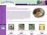 antiquebeadpeddler.com