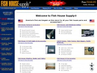 Fishhousesupply.com - Fish House Furnaces Heaters Lights Doors LP Cook Tops Bunks Tables 