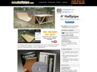 Easyhalfpipe.com - HALF PIPE Plans & How-to Ramp Build A Halfpipe Plans, Manual & DVD Videos!