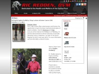 Ric Redden, DVM - Dedicated to the Health and Welfare of the Equine Foot