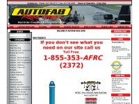 Autofab Race Cars  - Custom fabrications, high performance parts and chassis parts.