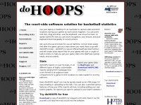 doHOOPS Basketball Statistics Software Home Page