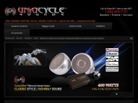 UNiQ Cycle Sounds | Motorcycle Speakers, Systems, Stereos & Audio - Amplified Motorcycle Speakers, Waterproof Motorcycle Speakers, Motorcycle Speaker System