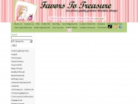 favors-to-treasure.com