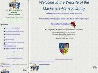 Mackenzie-Hanson Family & Business Web Site