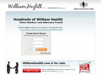 WilliamHazlitt.com - William Hazlitt