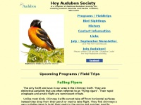 Hoy Audubon Society : A Chapter of the National Audubon Society