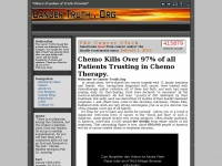 Cancer Truth - chemotherapy, chemotherapy side effects, chemotherapy drug, breast cancer chemotherapy, alternative cancer treatment