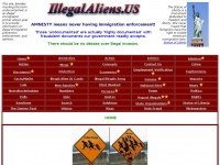IllegalAliens.US-Home (Undocumented immigrants is politically correct nonsense!)