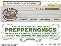 Ready Nutrition - Homesteading, Preparedness, Disaster and Emergency Planning