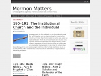 mormonmatters.org