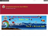 CISM - Conseil International du Sport Militaire - International Military Sports Council