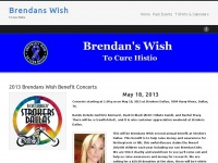 Brendans Wish | To Cure Histio