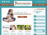 Texasforthem.org - TCAP Affordable spay, neuter, and vaccinations
