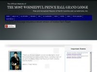 Mwphglnc.com - The Most Worshipful Prince Hall Grand Lodge NC