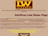 Welcome to IotaWear.com - Designs exclusively for Iota Phi