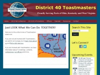 d40toastmasters.org