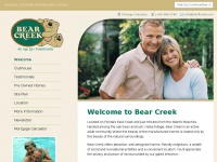 Bear Creek Florida - An Active Adult Community On Florida's East Coast